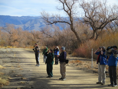 Birders at the COSA